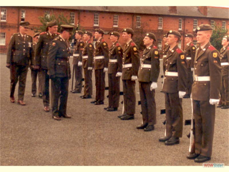 Passing Out parade - Cathal Brugha Bks