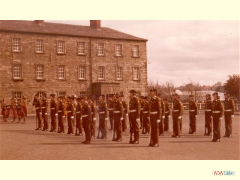 Passing Out Parade - Collins Barracks
