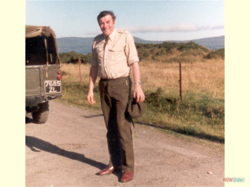 Annual Training - Bere Island 1981 (Vinnie May)