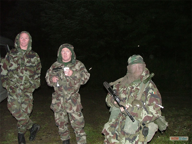 Annual Training 2004 - Cpl Sting Whelan, Cpl Wille Gunning, CS Kevin Young