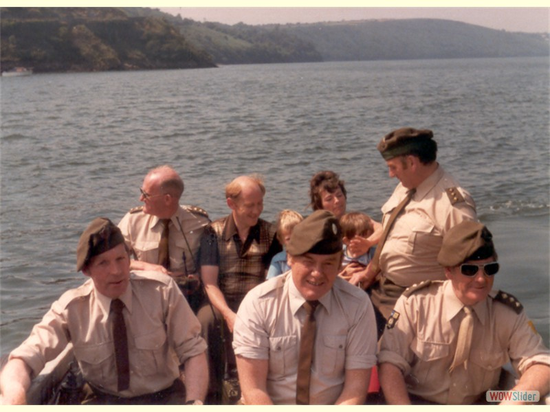Annual Training - Bere Island 1981