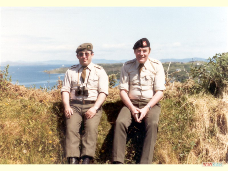 Annual Training - Bere Island 1981 (Niall Jordan, Vinnie May)