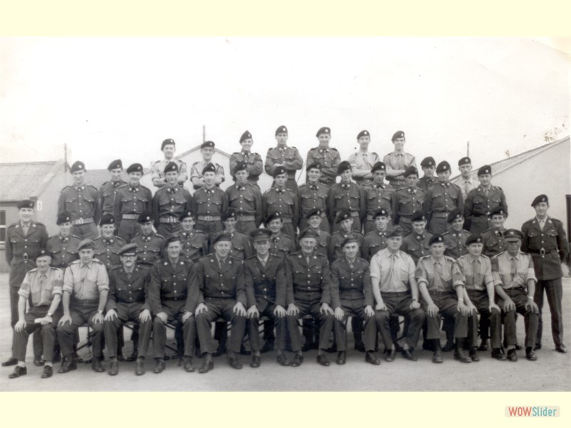 Annual Training - Clonmel 1968